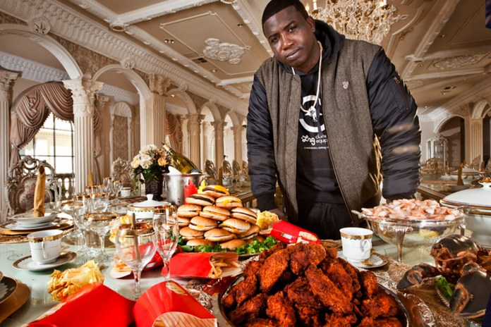 Gucci Mane Is Mad His Girl Won't Let Him Eat a Burger
