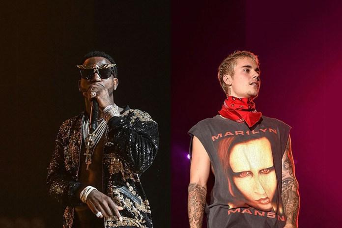 "Gucci Mane Hops on Major Lazer & Justin Bieber's ""Cold Water"" Remix"