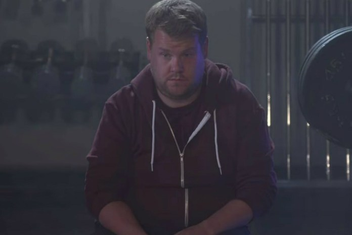 "James Corden Parodies Kanye West's ""Fade"" Video"