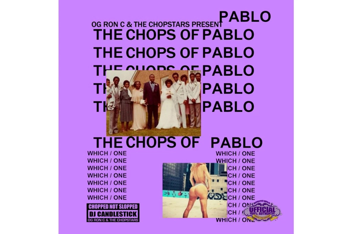 Stream Kanye West's 'The Life of Pablo' Chopped & Screwed by OG Ron C