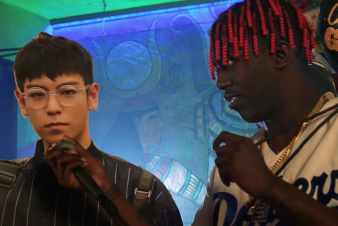 Lil Yachty Raps Over BIG BANG Hits