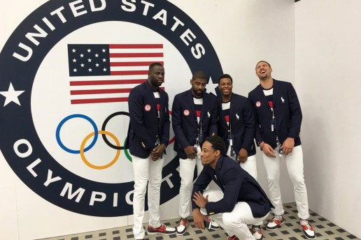 """Watch The USA Men's Basketball Team Sing """"A Thousand Miles"""""""