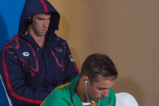 "Michael Phelps Credits Future's ""Stick Talk"" For His Mean Muggin at Olympics"