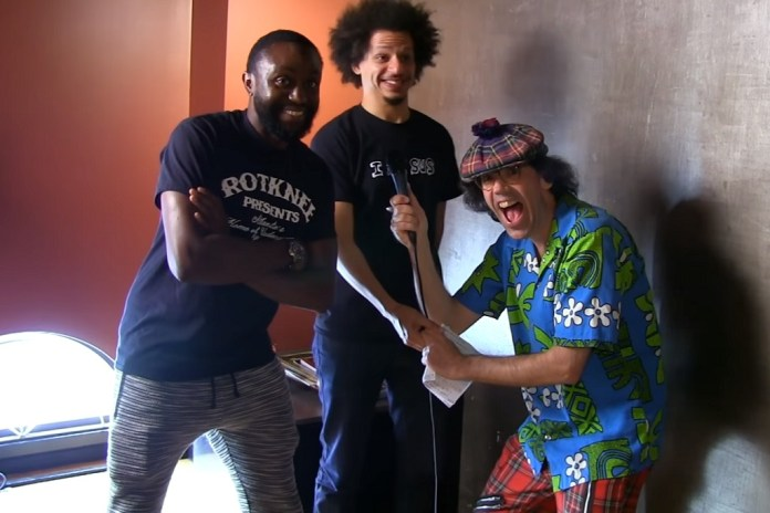 Nardwuar's Interview With Eric Andre Is His Strangest One Yet