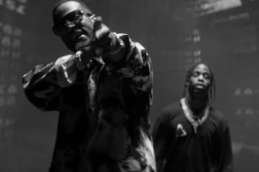 "Watch Juicy J and Travis Scott Turns Things up on ""No English"""