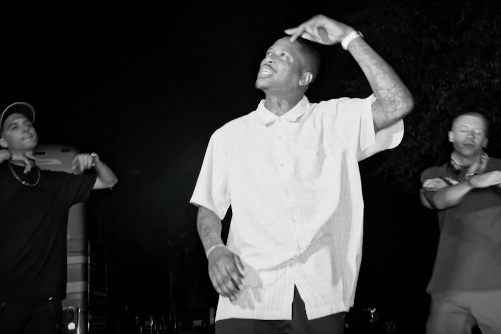"YG Drops ""F*ck Donald Trump"" Video Featuring Macklemore & G-Eazy"