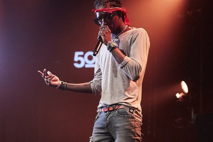 "Young Thug Doesn't Really ""Care for Sex"""