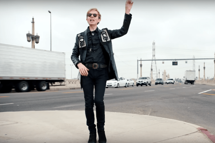 """Beck Transforms Into Breakdancing Cowboy in New Trippy Visual for """"Wow"""""""
