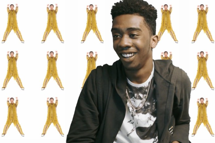 "Watch Desiigner React to ""Pen-Pineapple-Apple-Pen"""