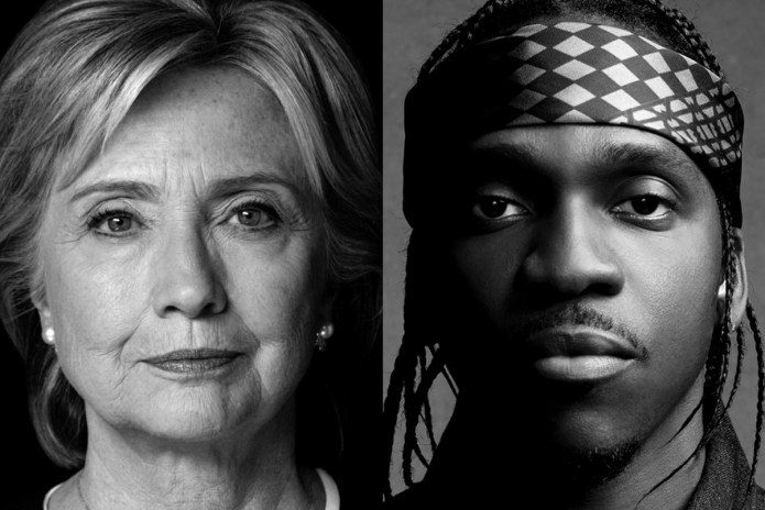 Hillary Clinton Hosts Pusha T Meet & Greet Contest