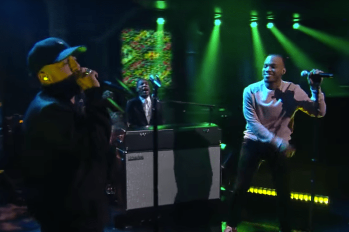 Watch Mac Miller and Anderson .Paak Take Over Late Night