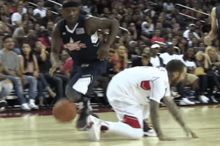 Mac Miller Might've Hurt His Back Trying to Guard Streetball Legend Bone Collector