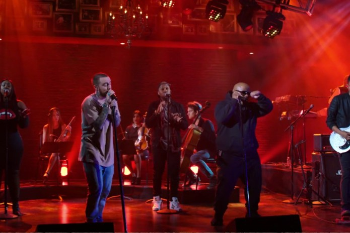 """Watch Mac Miller Perform """"We"""" With CeeLo Green"""