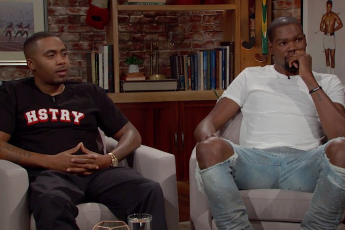 Nas and Kevin Durant Talk Hip-Hop, Basketball & Politics With Bill Simmons