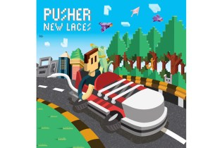 Stream PUSHER's Colorful, Shiny New EP, 'New Laces'