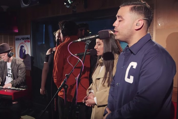 "Watch Ta-ku & Wafia Cover JoJo's ""Leave (Get out)"" & Play ""Love Somebody"""
