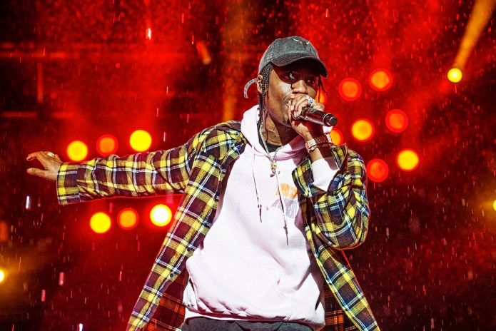 Travis Scott Has Reportedly Been Hospitalized for Dehydration