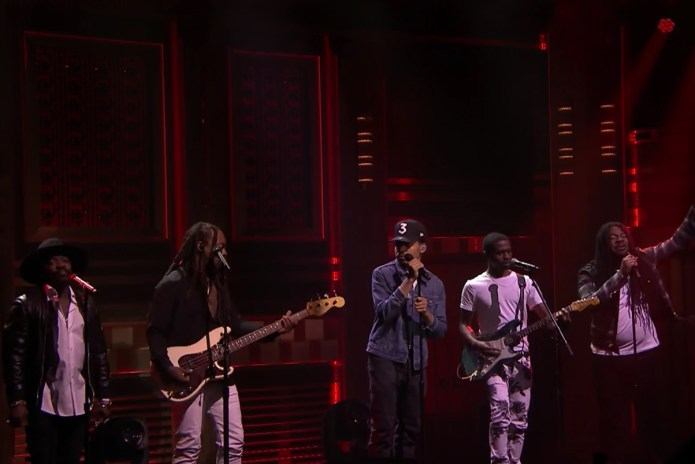 "Chance the Rapper Recruits Ty Dolla $ign, Raury, D.R.A.M. & Anthony Hamilton for ""Blessings (Reprise)"" Performance"