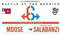 BATB 6 -- Moose vs Bastien Salabanzi