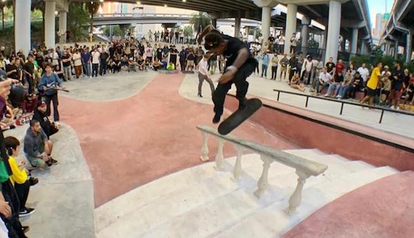 Arizona Iced Tea & Skate Free Present 'Winter Break' At Miami's Lot 11 Park
