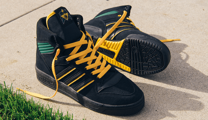 Na-kel Smith's 'Rivalry Hi' Shoe Reboots An Adidas Classic