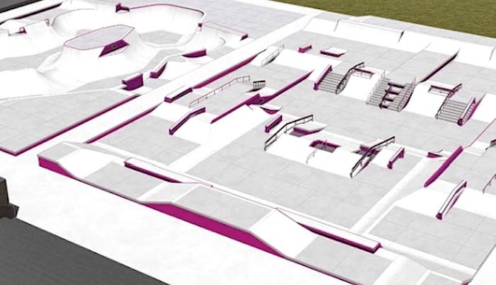 CA Skateparks Reveals Olympics Skatepark Design