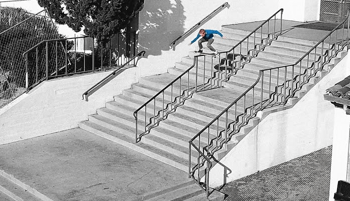 Kristion Jordan Has a New Volcom Part And It's Crazy
