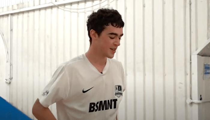 Jamie Griffin Practices His Flatground Before BATB 12