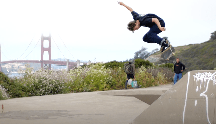 James Capps Is Soarin' Over California In New Lakai Video