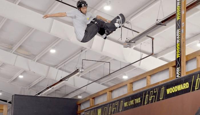 Watch Pedro Delfino Skate Vert At Woodward