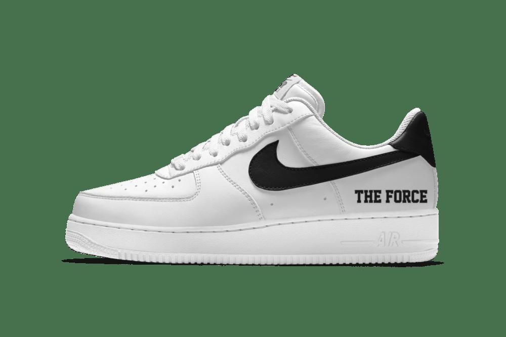 Nike iD Air Force 1 Low Force Is Female Custom