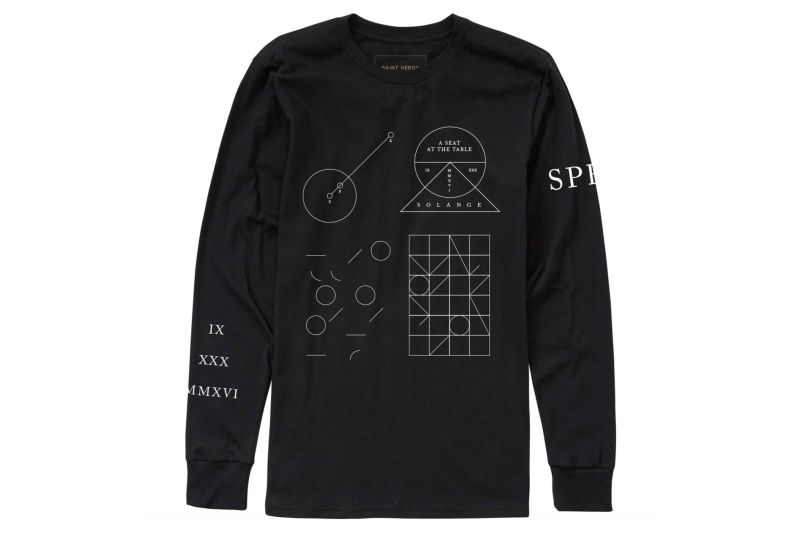Solange Knowles Astrology Merchandise Tour Merch Cosmic Journey A Seat At the Table Sweatshirts T-Shirt
