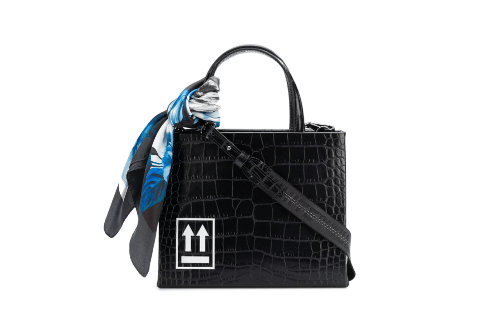 Off White Cocco Box Bag Black