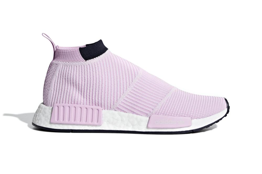 adidas Originals CS1 PK City Sock Primeknit Pale Pink