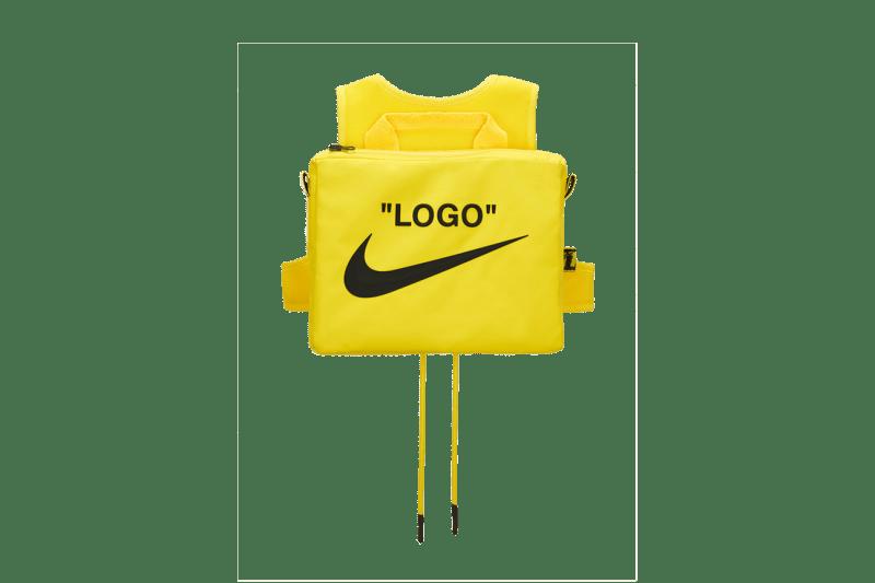 Off-White x Nike Athlete In Progress Utility Vest Yellow