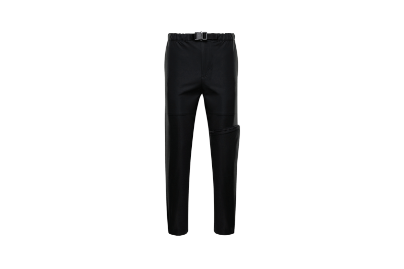 6 MONCLER 1017 ALYX 9SM Collection Buckle Pants Black