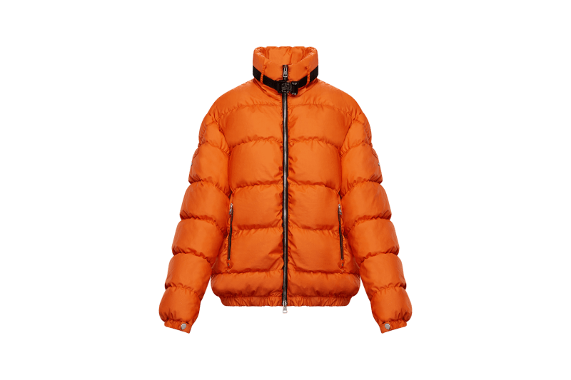 6 MONCLER 1017 ALYX 9SM Collection Buckle Puffer Orange