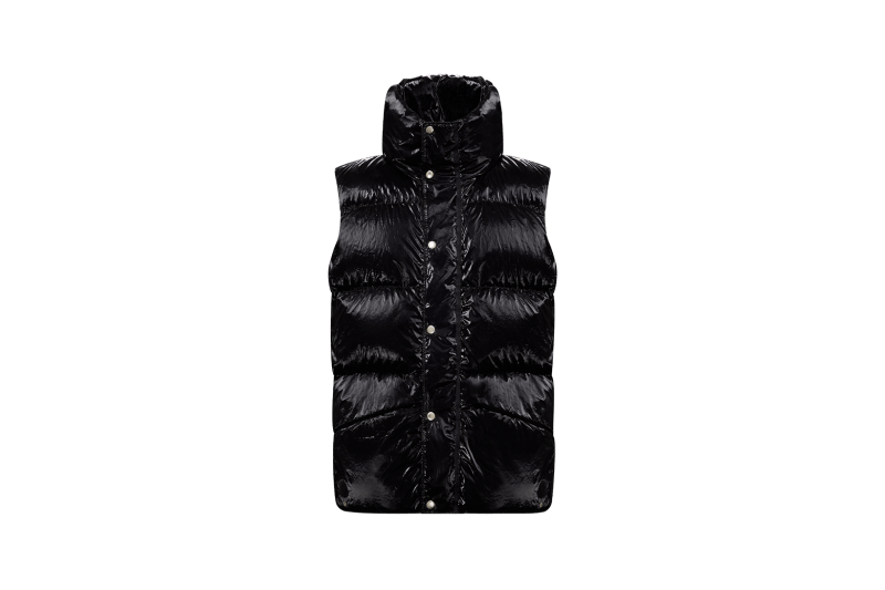 6 MONCLER 1017 ALYX 9SM Collection Puffer Vest Black