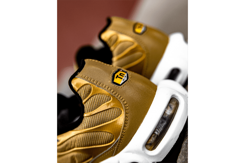 "Nike Air Max Plus ""Metallic Gold"" Re-Release Gold Bullet Nike TN"