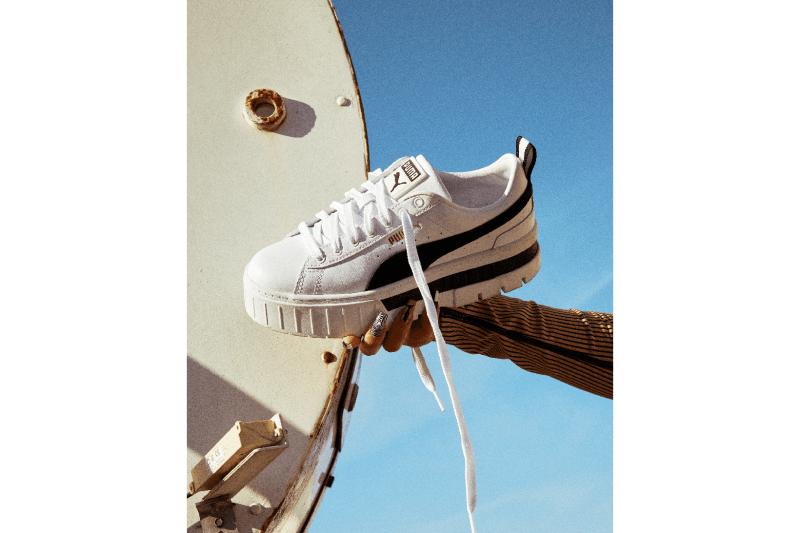 Dua Lip PUMA Mayze Sneaker Campaign