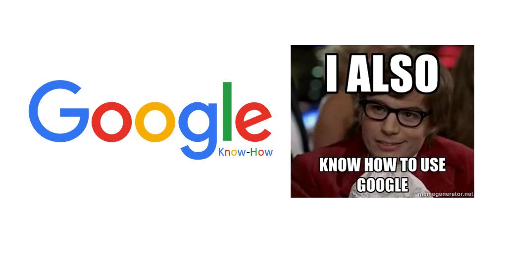 Google Know-How: Suche + deine Welt