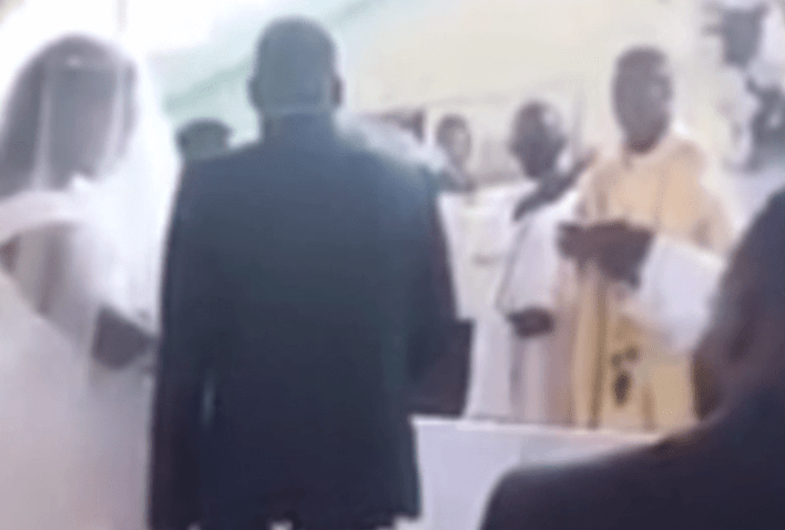Married Man Caught Trying To Marry Another Woman In Church By The Wife