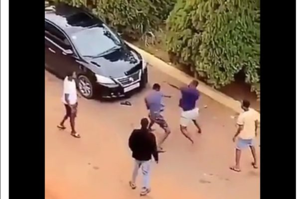 VIDEO: Two KNUST boys trade blows over a girl