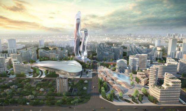 Akon created his own futuristic 'crypto' city in africa