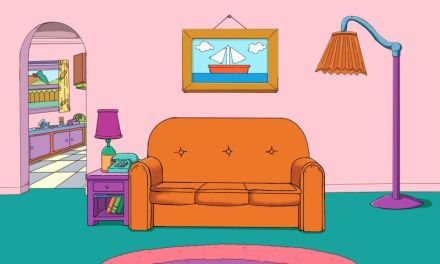 This surprising fact about The Simpsons' living room will make your day