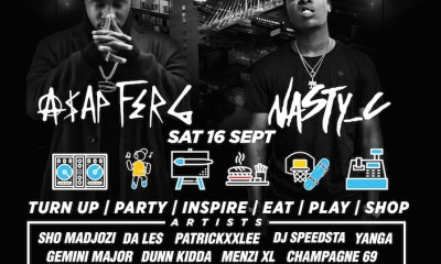 A$AP FERG & NASTY C To Headline First Annual CAPSULE FEST capsule poster