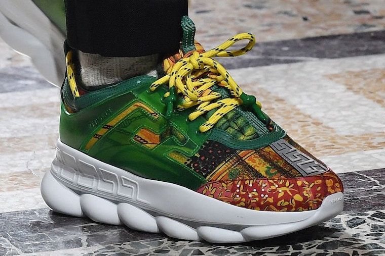 2 chainz 2 Chainz x Versace Collaboration Teased [SneakPeak] 2 chainz versace chain reaction sneaker release date 4