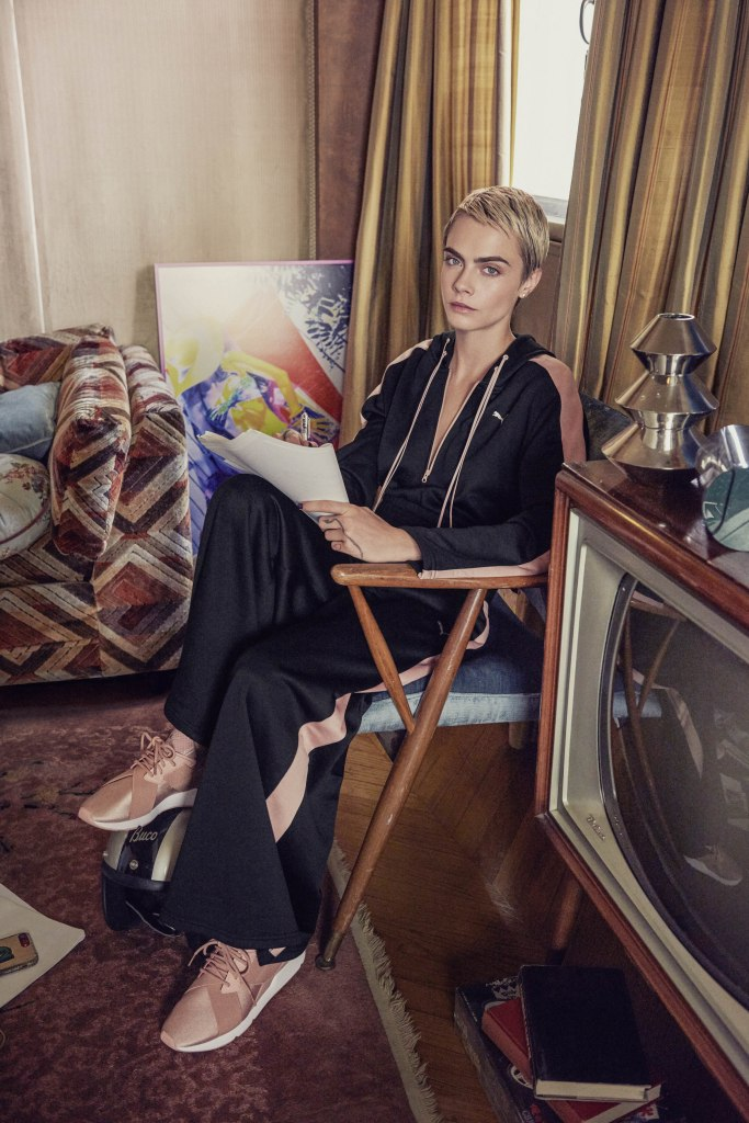 puma PUMA's 'DO YOU' Encourages You To Become Your Own Muse Cara Delevingne in PUMA Muse Satin 01 683x1024