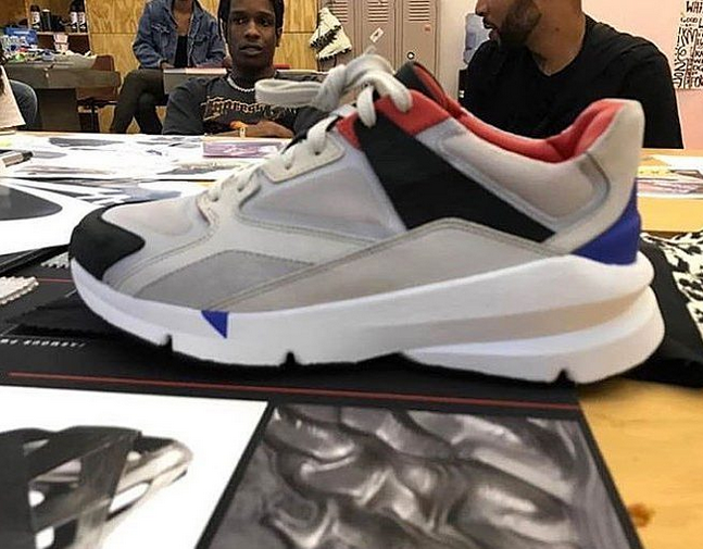 a$ap rocky A$AP Rocky x Under Armour Collab Sneaks Teased [SneakPeak] cu 1