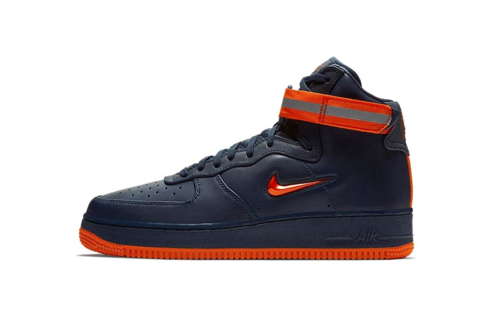 Nike 'NYC' Air Force 1 Trio [SneakPeak] nike air force 1 nyc obsidian brilliant orange 1